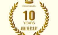 祝 IFO SKATEBOARD 10周年