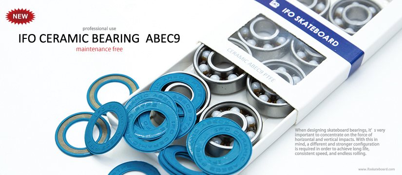 NEW IFO CERAMIC BEARING ABEC9 PTFE